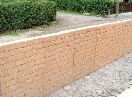 Betonfertigteile, Strukturmauer, U-Profile